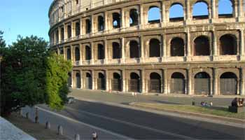 Car park Rome Colosseum