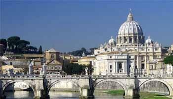Car park Rome San Pietro Vatican Museums Vatican City
