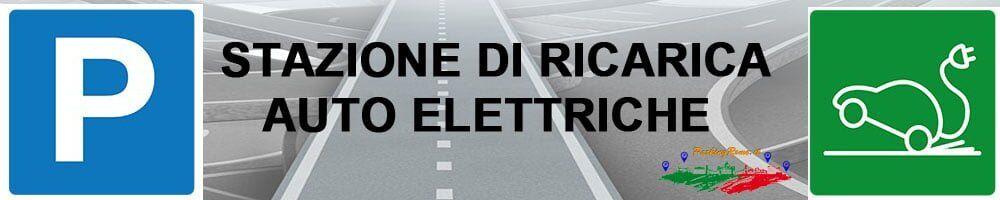 Parcheggio con colonnine ricarica auto elettriche a Roma