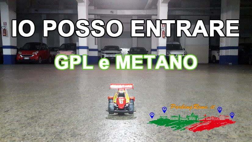 Parcheggio Roma Auto a Gas, GPL e Metano